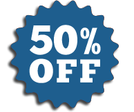 50% Off Carpet Cleaning