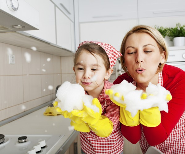 Make Cleaning Fun For Kids   End Of Tenancy Cleaning London