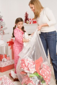 cleaning after Christmas children_take_part