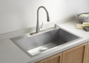 dirtiest places in your home kitchen-sink