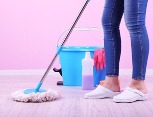 good relations with your landlord cleaning_regularly