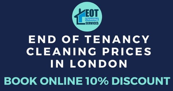 EOT Cleaning Fees in London