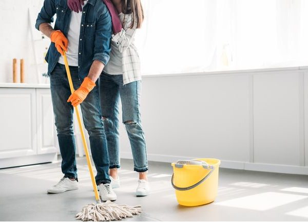 clean house without chemicals.